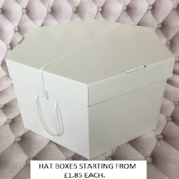 All Cream Hatboxes