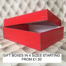 Large Gift Box Red
