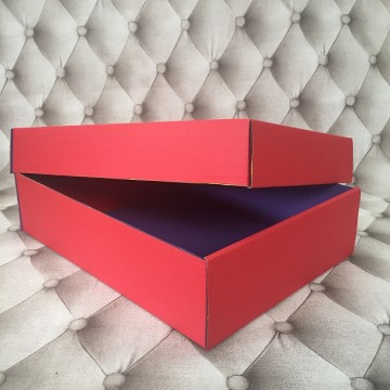 Gift Box matte Red