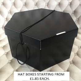 All Black Hatboxes