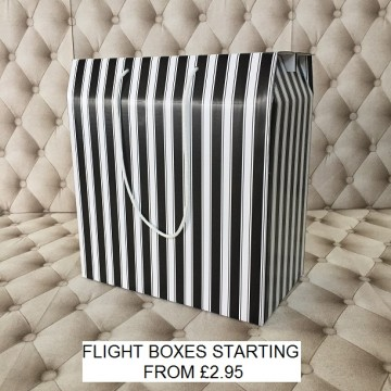 Flight Box Black and White