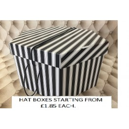 Black and White Hatboxes