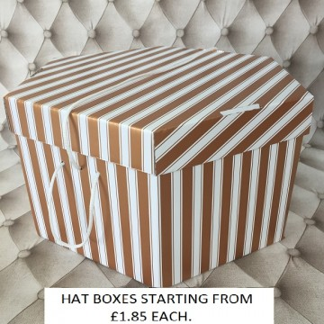 Gold Hatboxes