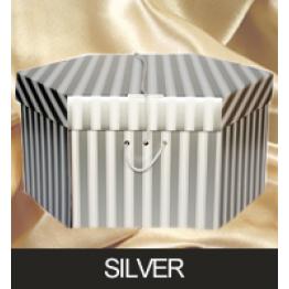 Silver Hatboxes